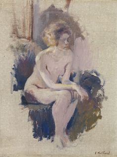 Study of a Nude, Edouard Vuillard 1903 Figure Painting, Figure Drawing, Painting & Drawing, Edouard Vuillard, France Art, Art Moderne, Life Drawing, Erotic Art, Figurative Art