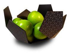 Mark Howell - Designer: Gio Fruit Bowl in Aluminium