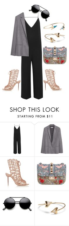it's not unusual by astridlund on Polyvore featuring MANGO, Joseph, Sophia Webster, Valentino and Sole Society