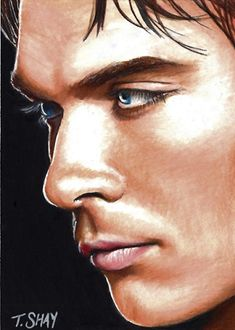 Damon-The Vampire Diaries Card by ~Dr-Horrible on deviantART ** damn..