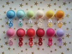 Ten (10) EOS Lip Balm Baby Shower/Sprinkle Favor Cut Outs- Rattle
