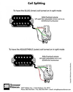 Prs pickup color codes reds are together for normal humbucker mode inner or outer coil split wiring diagram asfbconference2016 Choice Image