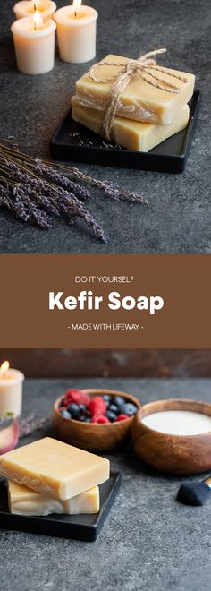 How to Make Kefir Soap Kefir How To Make, Soap Maker, Cold Process Soap, Soap Recipes, Home Made Soap, Handmade Soaps, Natural Healing, Diy Beauty, The Balm