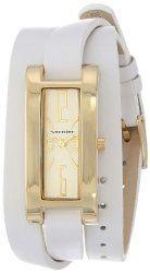 Vernier Women's VNR11156WT Vernier Analog Display Japanese Quartz White Watch