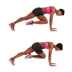 """How to do the Mountain Climber exercise. So I know what I'm doing during some of those """"First Thing In The Morning"""" 15 minute work outs! :-)"""