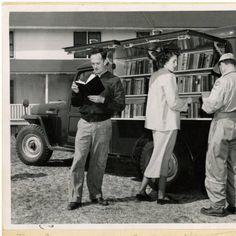 Dare County bookmobile : Library History Collection, April, 1950. ^mcu