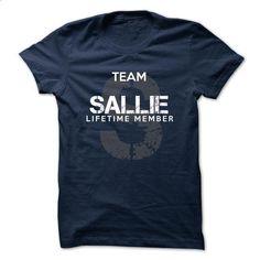 SALLIE - TEAM SALLIE LIFE TIME MEMBER LEGEND - #long tshirt #baja hoodie. MORE INFO => https://www.sunfrog.com/Valentines/SALLIE--TEAM-SALLIE-LIFE-TIME-MEMBER-LEGEND-50559026-Guys.html?68278