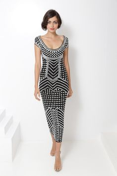 Norma Kamali SS2013-- reminds me of the film Metropolis. Although, somehow set in France. either way j'adore.