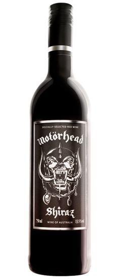 Motorhead Shiraz....sophisticated!   #Motorhead #Quiz #No Sleep