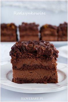 Ciasto rodzynkowiec - I Love Bake Good Food, Yummy Food, Breakfast Menu, Polish Recipes, Sugar Rush, Cupcake Cookies, Sweet Tooth, Nutella, Cheesecake