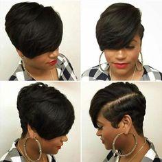 Luna 041 Best Design Women Cropped Short Straight Wig