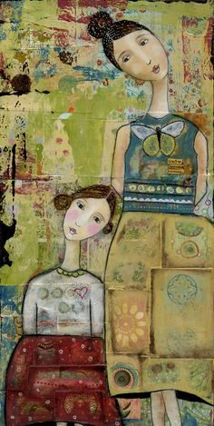 Kelly Rae Roberts (artist). Amazingly different and inspiring.