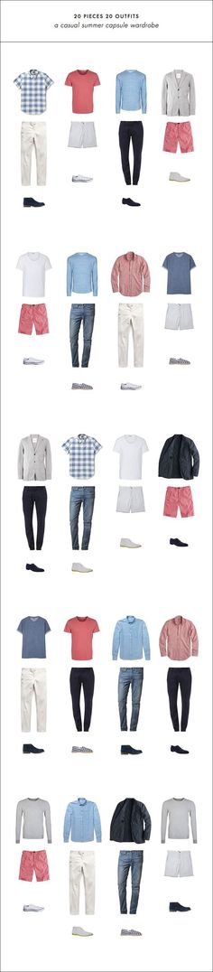 20 pieces 20 outfits #men #style #guide #fashion #affiliate