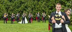 Wedding Photography - Wedding Party Super Heroes | Woodstock, Ontario | Craigowan Oxford Golf & Country Club | Roman Hidalgo Photography