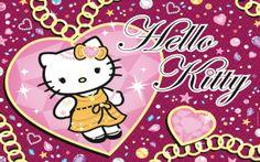 Hello Kitty purple wallpaper love – 1920px X 1200px