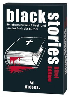 Black Stories - Bibel Edition Spielwaren Kartenspiele Black Stories