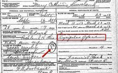 Two Little Known Facts About Death Records for Genealogy. #familyhistory #genealogy Cause of death