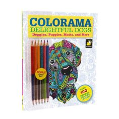 Telebrands Press Colorama Delightful Dogs Color Book from Blain's Farm and Fleet