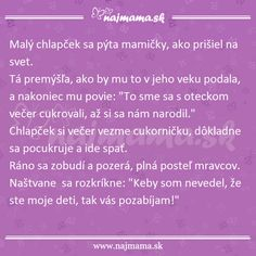 Mama vysvetľuje: Ako som prišiel na svet | Najmama.sk