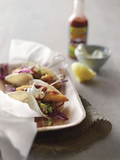 Mexican Fish Tacos with Guacamole Recipe on Best Home Chef: Enter your recipe now to win a kitchen worth $50,000!