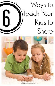 Teach Children Sharing - 6 Ways to Teach Your Children to Share Now