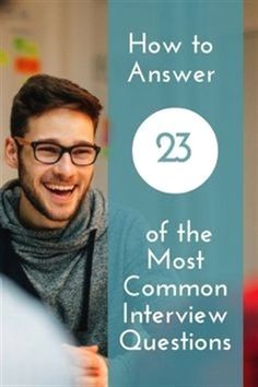 Career infographic & Advice How to Answer 23 of the Most Common Interview Questions Most Common Interview Questions, Interview Skills, Job Interview Tips, Interview Preparation, How To Interview, Interview Weakness Answers, Preparing For An Interview, Professional Interview Questions, Job Interview Hairstyles