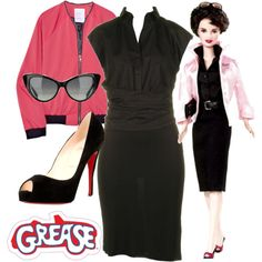 Grease: Rizzo by fifipyxies on Polyvore featuring Paul Smith Black Label, Mini for Many, Christian Louboutin, Tom Ford, women's clothing, women's fashion, women, female, woman and misses