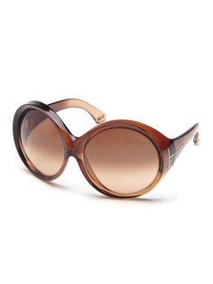 90f4762ebd8 TOM FORD  Ali  Oversized Round Frame Sunglasses ✺ꂢႷ ძꏁƧ➃Ḋã̰Ⴤʂ✺ ...