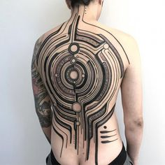 Discover the top 105 best full-body tattoo ideas for men including black/gray and full-color tattoos as well as designs featuring skulls, buddhas and more. Full Back Tattoos, Full Body Tattoo, Full Sleeve Tattoos, Tattoo Sleeve Designs, Tattoo Nape, Forearm Tattoo Men, Mens Body Tattoos, Body Art Tattoos, Black Ink Tattoos