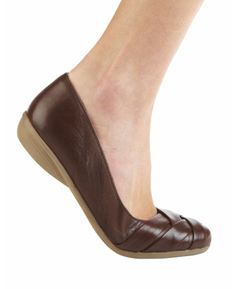 Sole Diva Cross Over Ballerina Pumps D at Simply Be