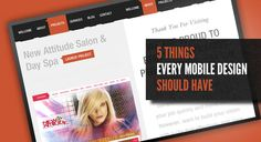5 things every mobile design should have.