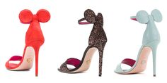 These Minnie-Mouse Inspired Heels Are So Chic