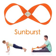 October is calling our Sunburst STRETCH Infinity Strap out! Anyone looking to match their Fall yoga gear with the world's best yoga strap?! ;)