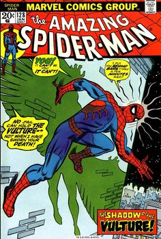 The Amazing Spider-Man n°128, January 1974, cover by John Romita
