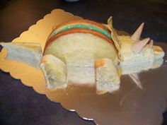 Triceratops Cake How-To