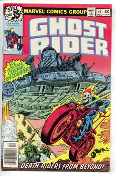 Ghost Rider 33 Marvel 1978 NM- Bob Budiansky