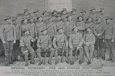 Imperial Yeomanry- Fife  and Forfar  Contingent