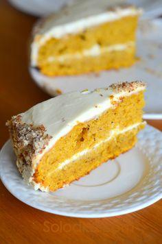 Solodke: Тыквенный торт