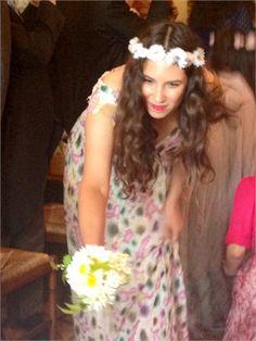 Tatiana at the wedding of Margherita Missoni