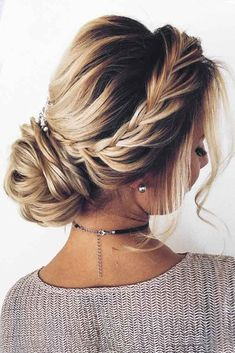 Women's Hairstyles : 63 Amazing Braid Hairstyles for Party and Holidays ★ Updo Braid Hairstyle Idea... #HairStyle https://inwomens.com/2018/03/07/womens-hairstyles-63-amazing-braid-hairstyles-for-party-and-holidays-%e2%98%85-updo-braid-hairstyle-idea/