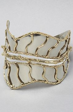 The Feather Cuff Bracelet