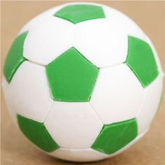 Iwako Cool Green And White Soccer Ball Eraser By -- Be sure to check out this awesome product.Note:It is affiliate link to Amazon.