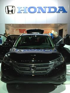 Honda CRV. Great showing at the Chicago Auto Show 2012.