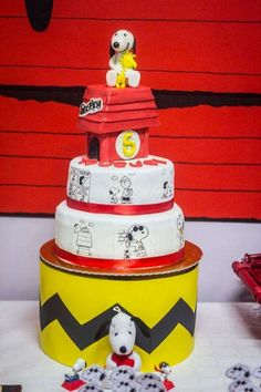 Snoopy Birthday Party Ideas | Photo 1 of 25 | Catch My Party