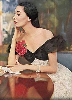 Betty Threatt, Vogue, February 15, 1954