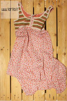 Tarita S/S 2013. Indi & Cold, printed cotton long dress.