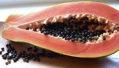 Use papaya seeds to kill worms
