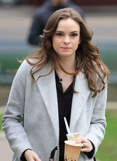 """Danielle Panabaker - Filming """"The Flash"""" Set in Vancouver"""