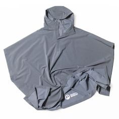 Innovation is in full effect in this practical UV Poncho by OUTLIER. Smartly designed to keep your skin protected against those harmful UV rays, this hooded poncho rocks shorter sleeves, a UPF of 50+, an Ultralight Doubleweave textile engineered to pull moisture from the skin, and a built-in resistance against wine, beer, and coffee spills. To add to its freshness appeal, the tailored drapery has been created with the active body in mind, thus ensuring that when you move, the poncho moves…