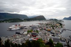 """See 462 photos and 8 tips from 2155 visitors to Ålesund. """"Some say """"Venice of the North"""", but I know it's: Alesund is amazing city with great viewpoint! Alesund, Four Square, Venice, Europe, River, Lights, City, Amazing, Outdoor"""